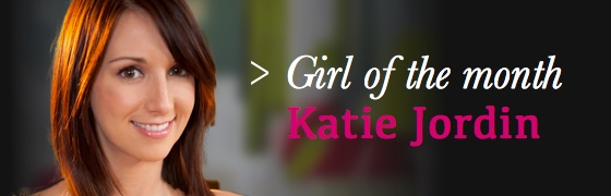 Girl of the month: Katie Jordin
