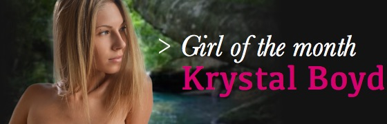 Girl of the month: Krystal Boyd